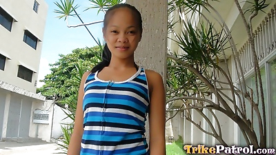 Innocent Thai girl goes with..