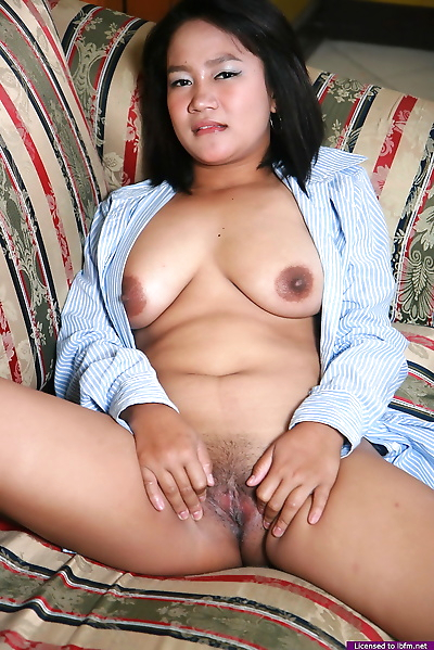 Small Asian woman with saggy..
