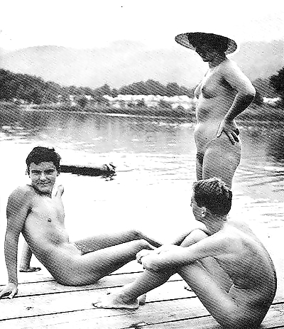Vintage beach nudist - part..