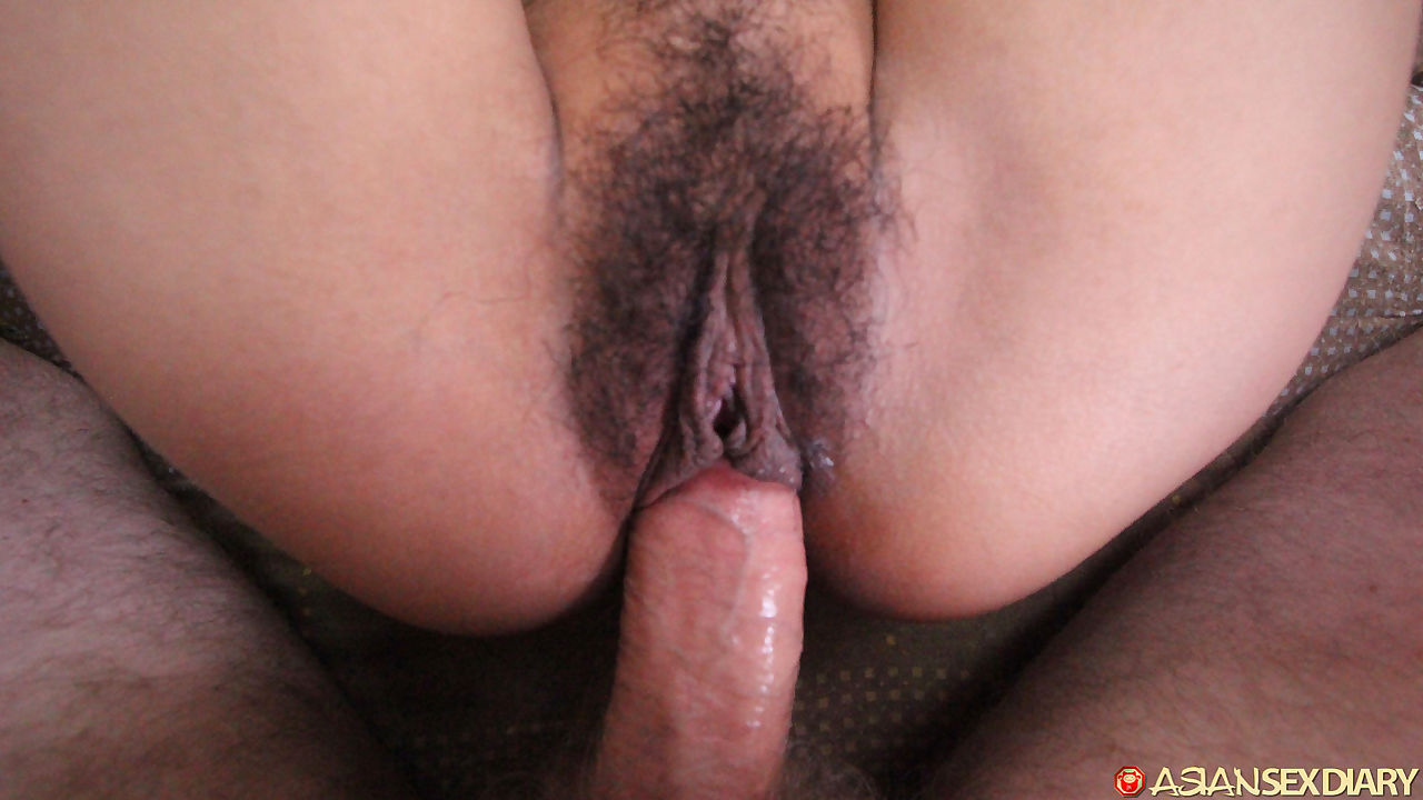 Muschi Close Asiatisch Up Haarig Asian Pussy